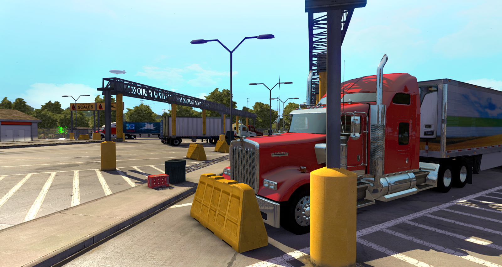 Weight Stations: New feature in American Truck Simulator