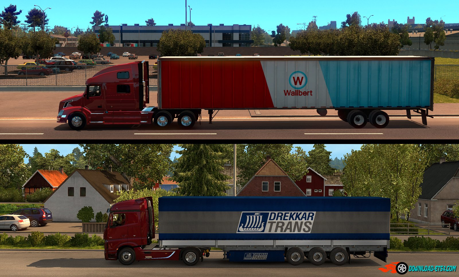Tractor-trailer Challenges in American Truck Simulator