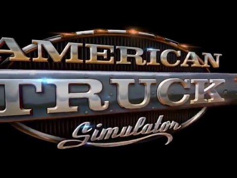 American Truck Simulator Gameplay