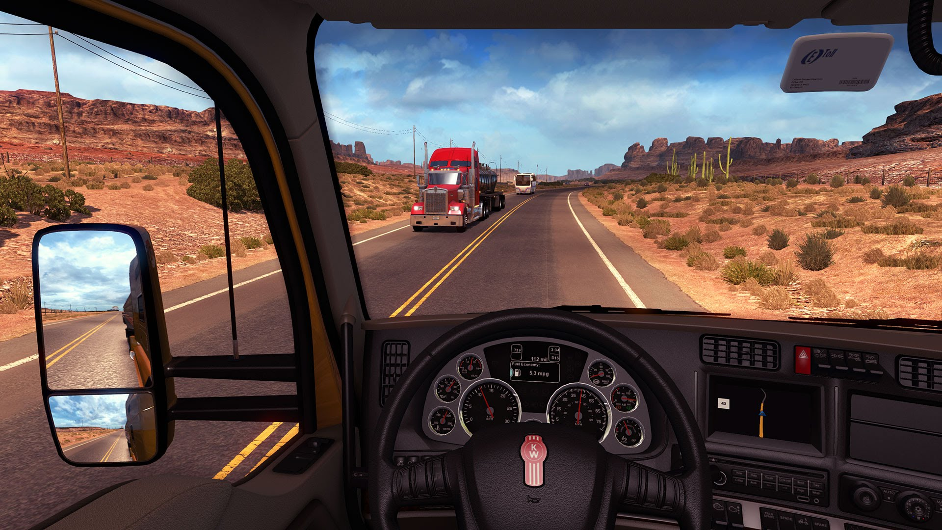 American Truck Simulator 2016 Beta Gameplay