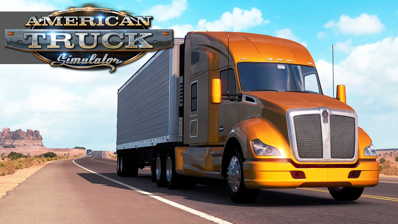 american truck simulator gameplay walkthrough part 1 ats. Black Bedroom Furniture Sets. Home Design Ideas