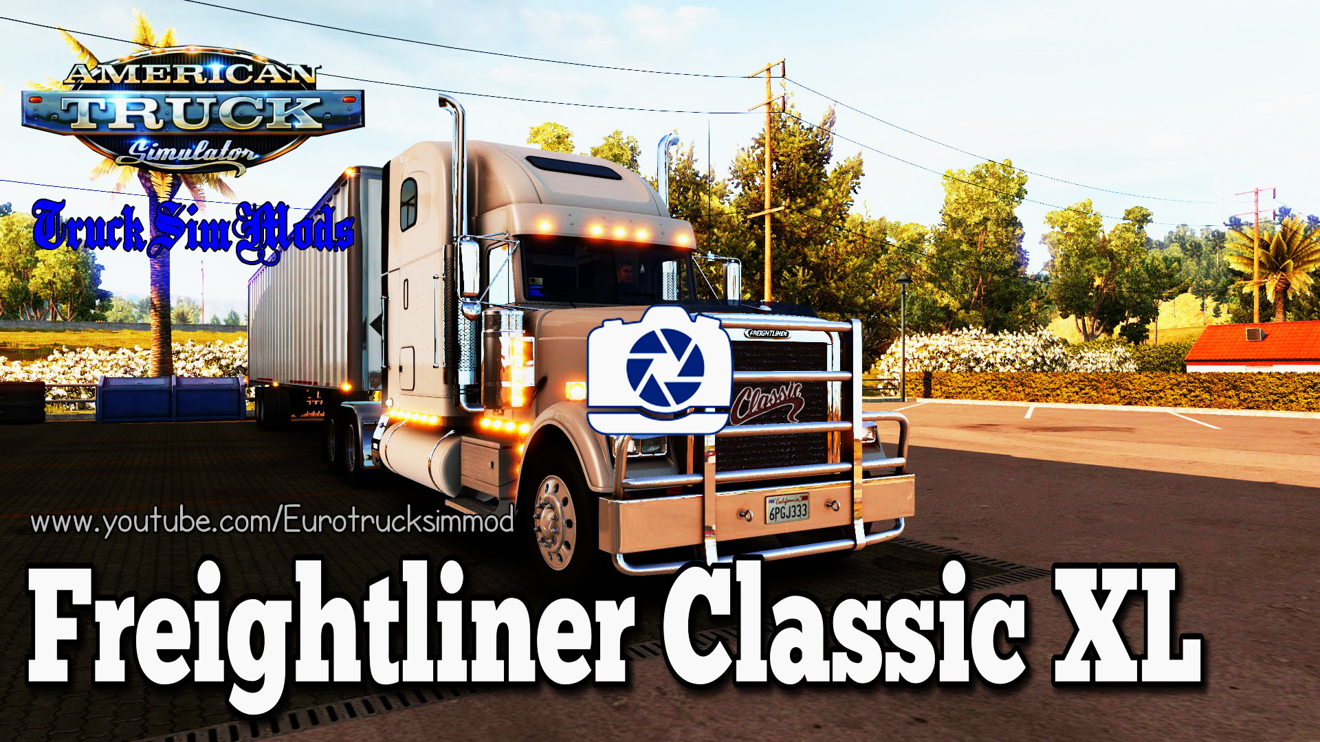 Freightliner Classic XL + Interior v1.0 for ATS