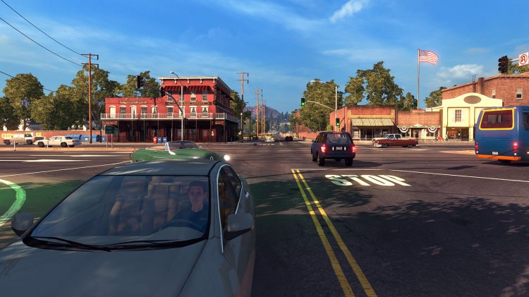 American Truck Simulator - Teaser Trailer + Screenshots