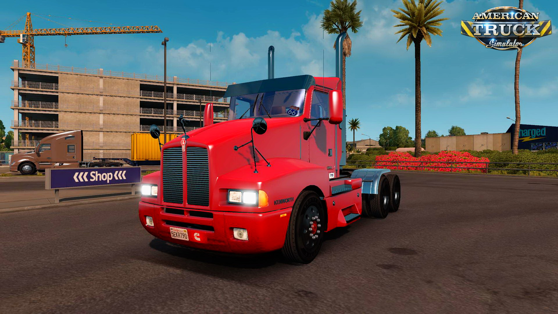 Kenworth T600 Day Cab for ATS
