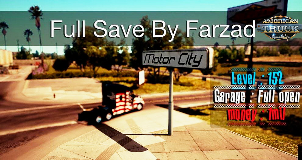 Full ATS Save v1.0 by Farzad