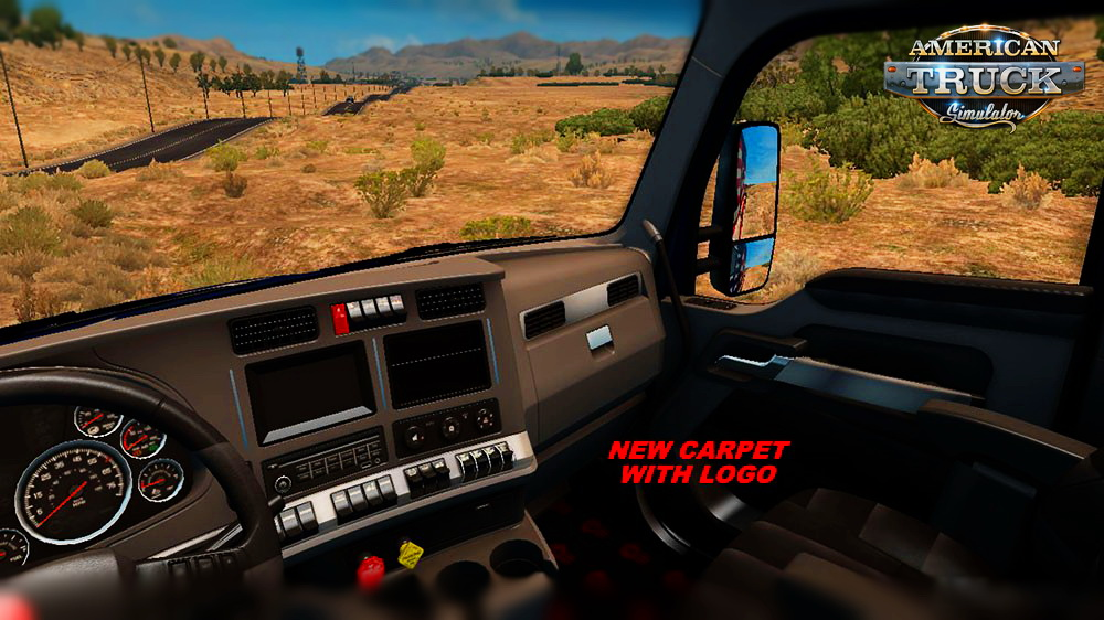 Kenworth T680 Special Interior for ATS