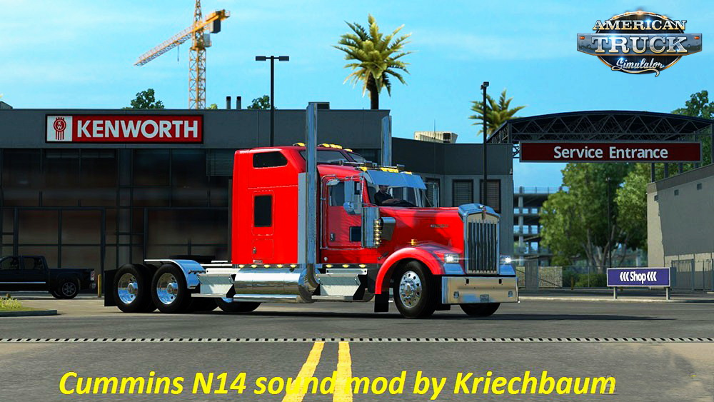 Cummins N14 for the Peterbilt 389 v1.0