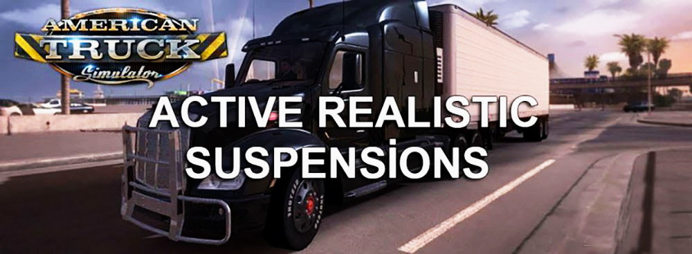 Active Realistic Suspension Mod v1.0 for ATS