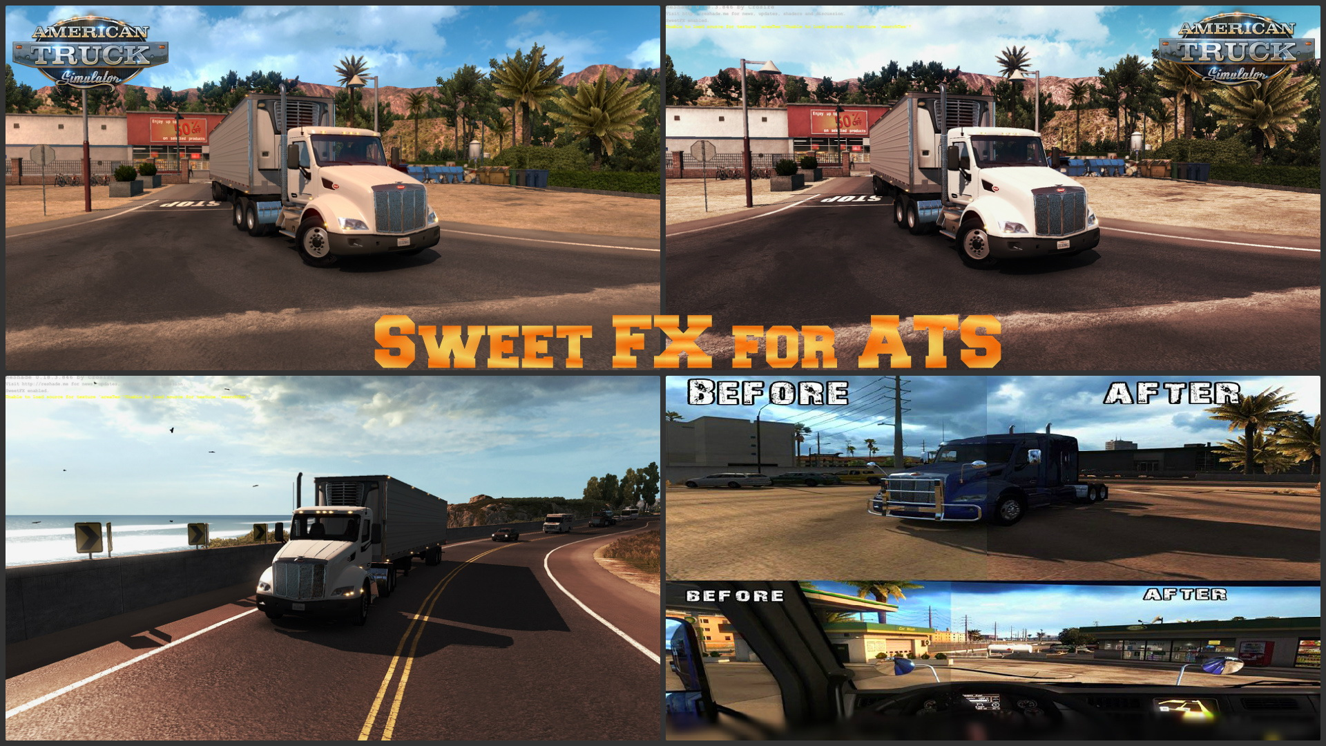 Sweet FX for ATS v1.0 by Crosire
