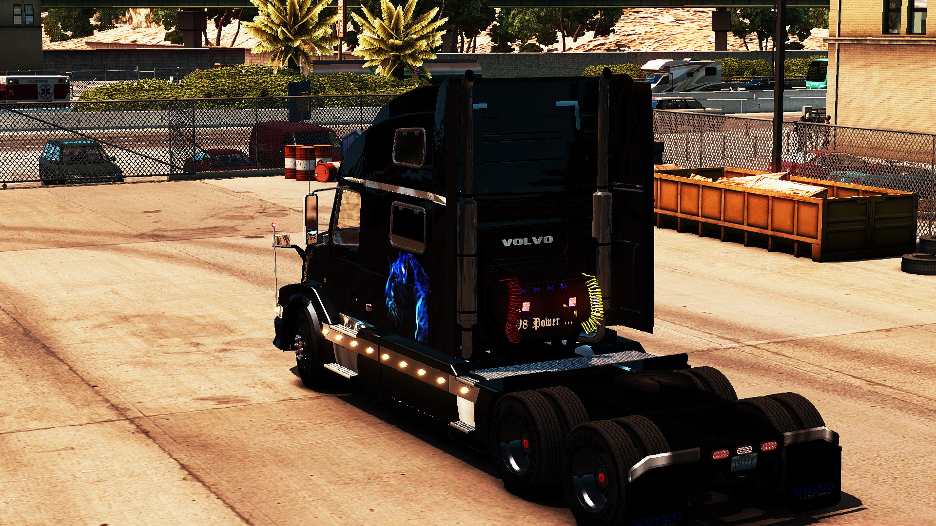 Volvo VNL + Interior v1.0 for ATS
