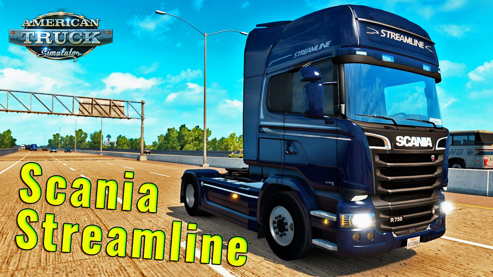 Scania Streamline + Interior v1.0 for ATS