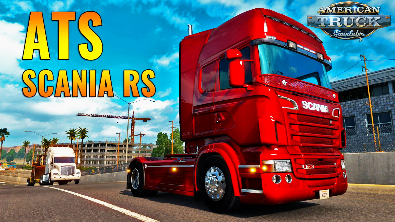 Scania R & Streamline Modifications v1.5 by RJL for ATS