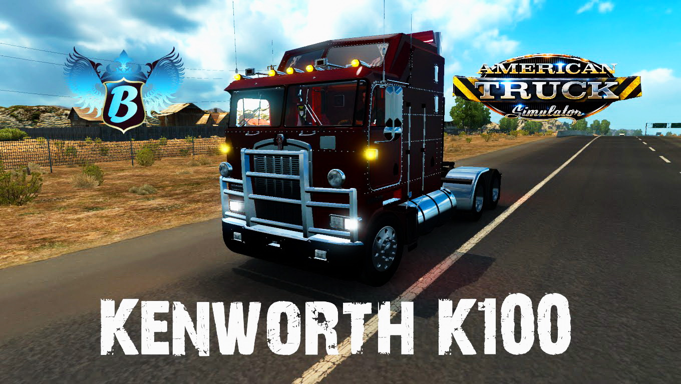 Kenworth K100 Aerodyne + Interior v1.0 (for v1.0.0)
