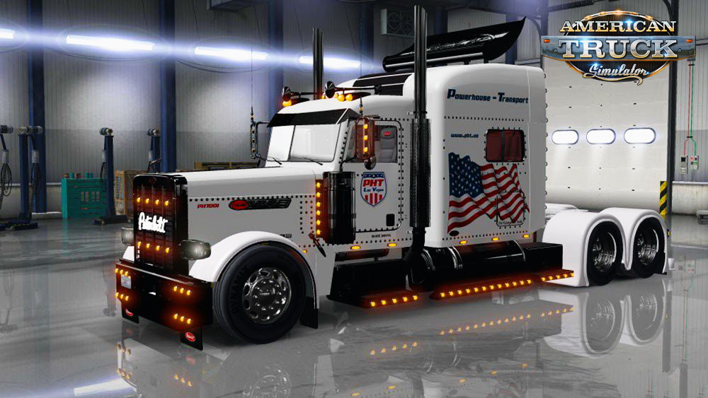 Powerhouse Transport Skin for Peterbilt 389 v1.0