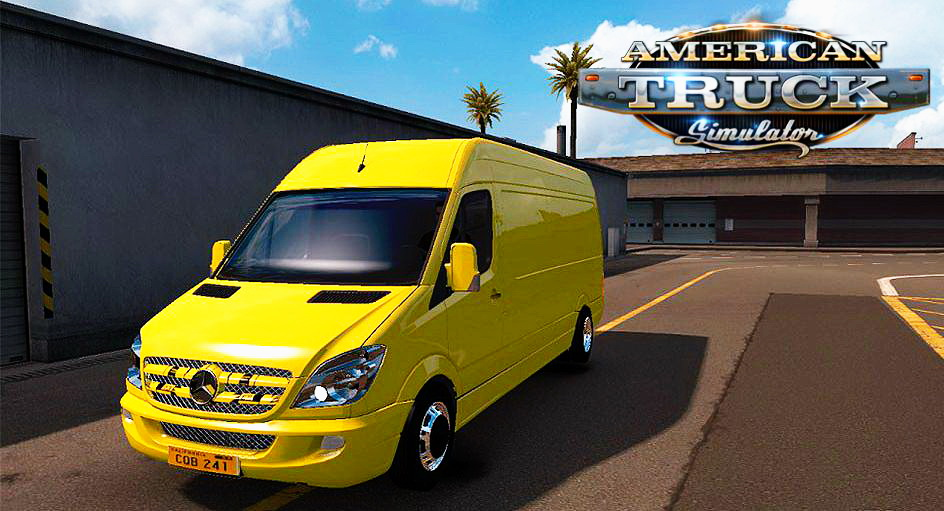 Mercedes Sprinter LWB v1.1 for ATS