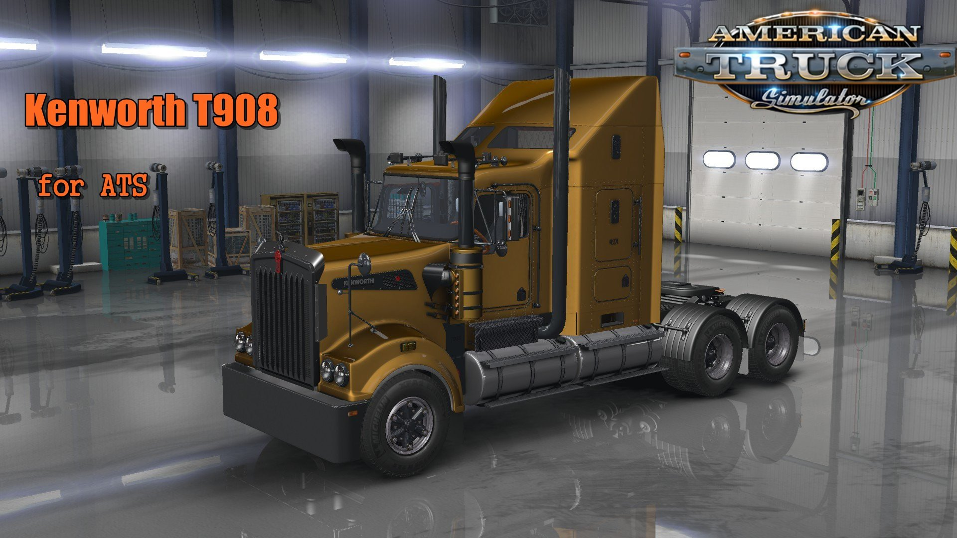 Kenworth T908 For Ats 187 American Truck Simulator Mods