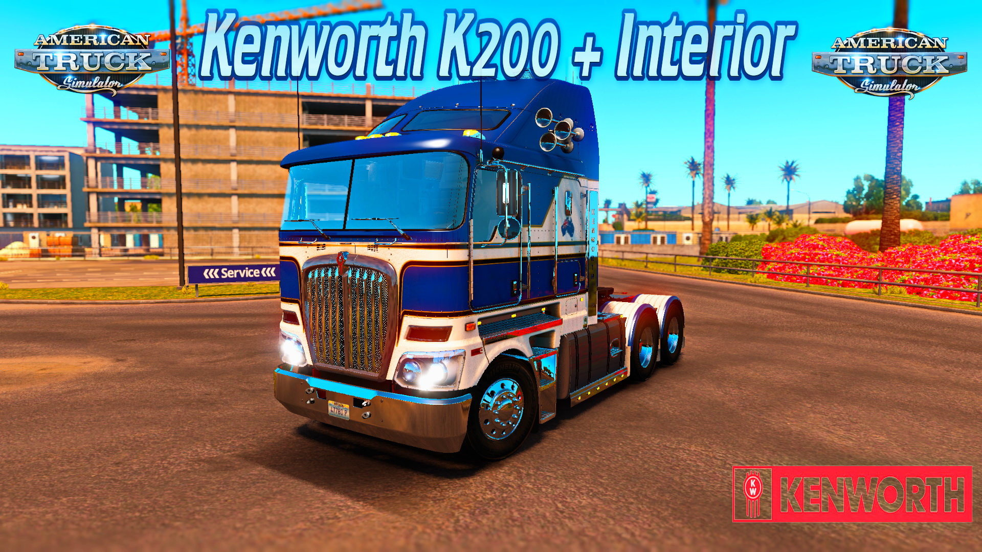 Kenworth K200 + Interior v14.0 [1.6.x]