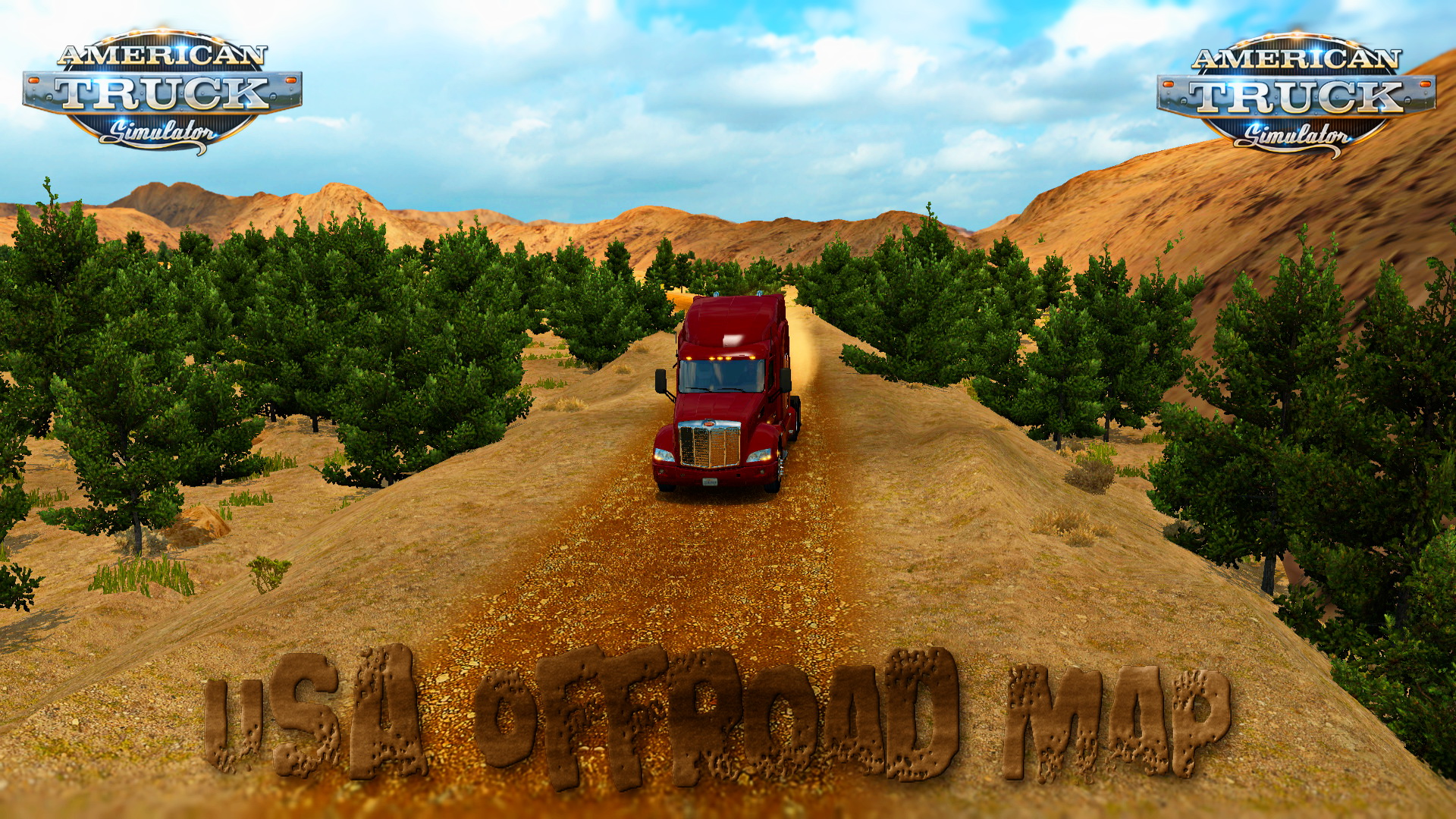 USA Offroad Map for ATS (American Truck Simulator)