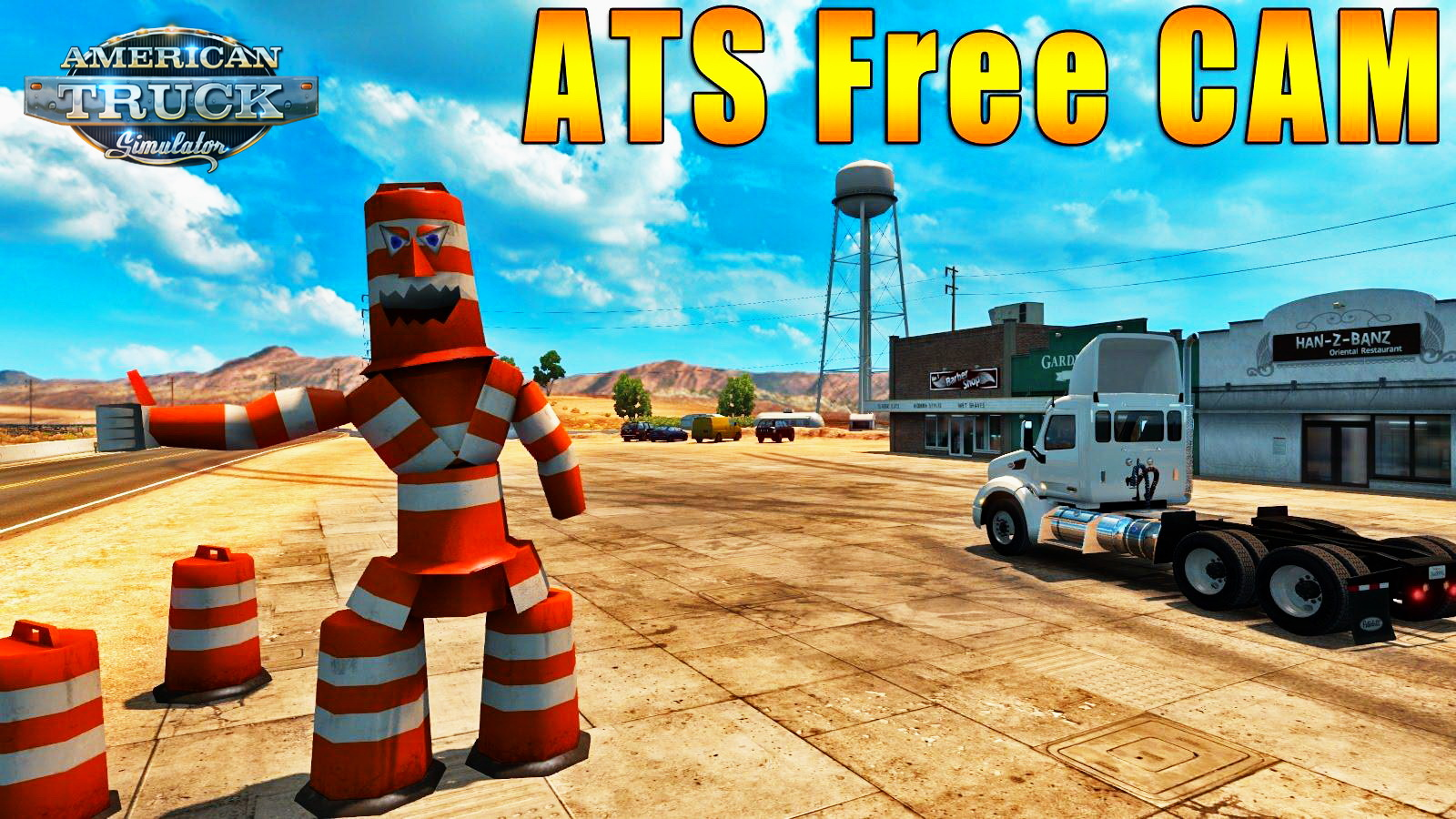 Free Camera Mod v1.0 for ATS