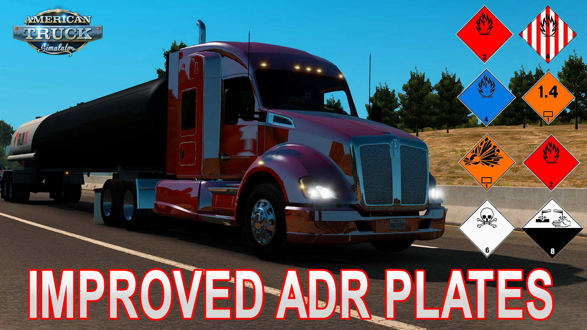 Improved ADR plates v1.0