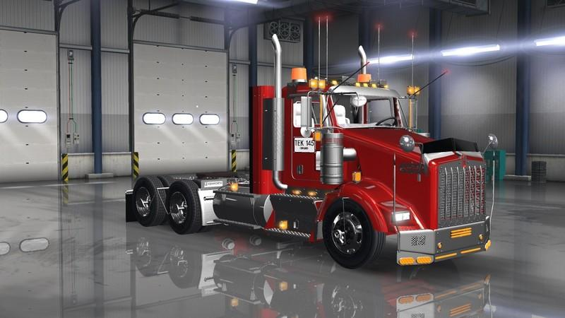 Kenworth T800 Colombia + Interior v1 0 » ATS mods | American