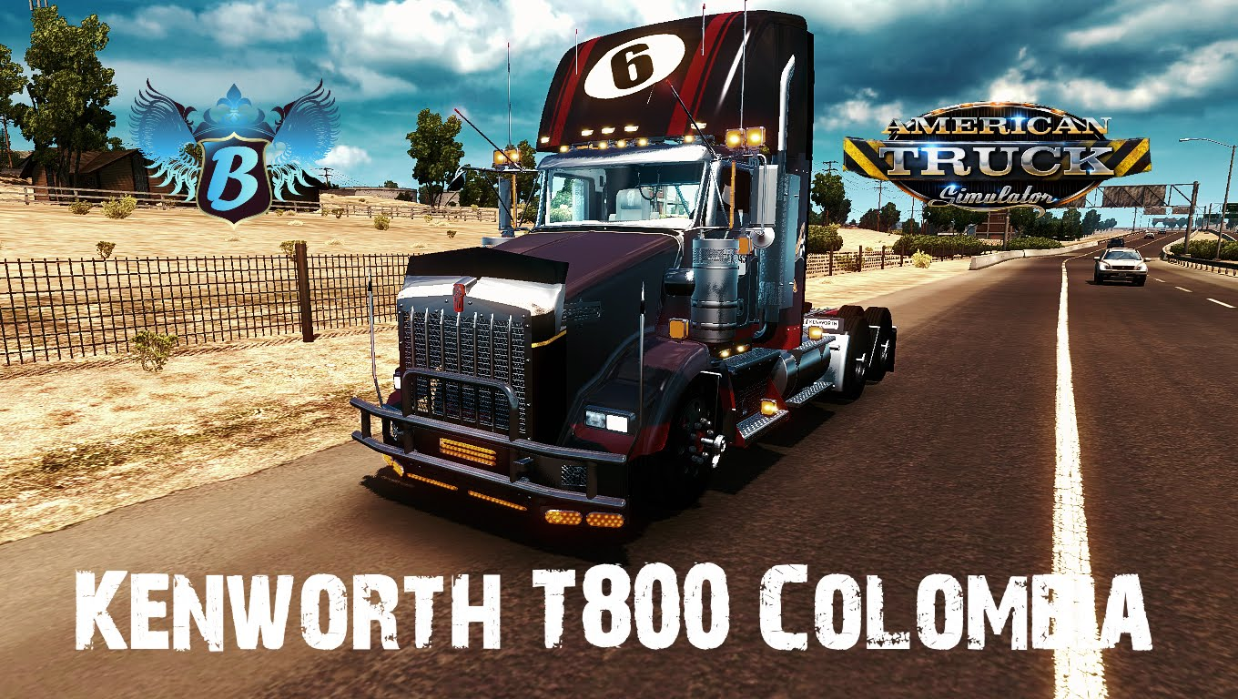 Kenworth T800 Colombia + Interior v1.0