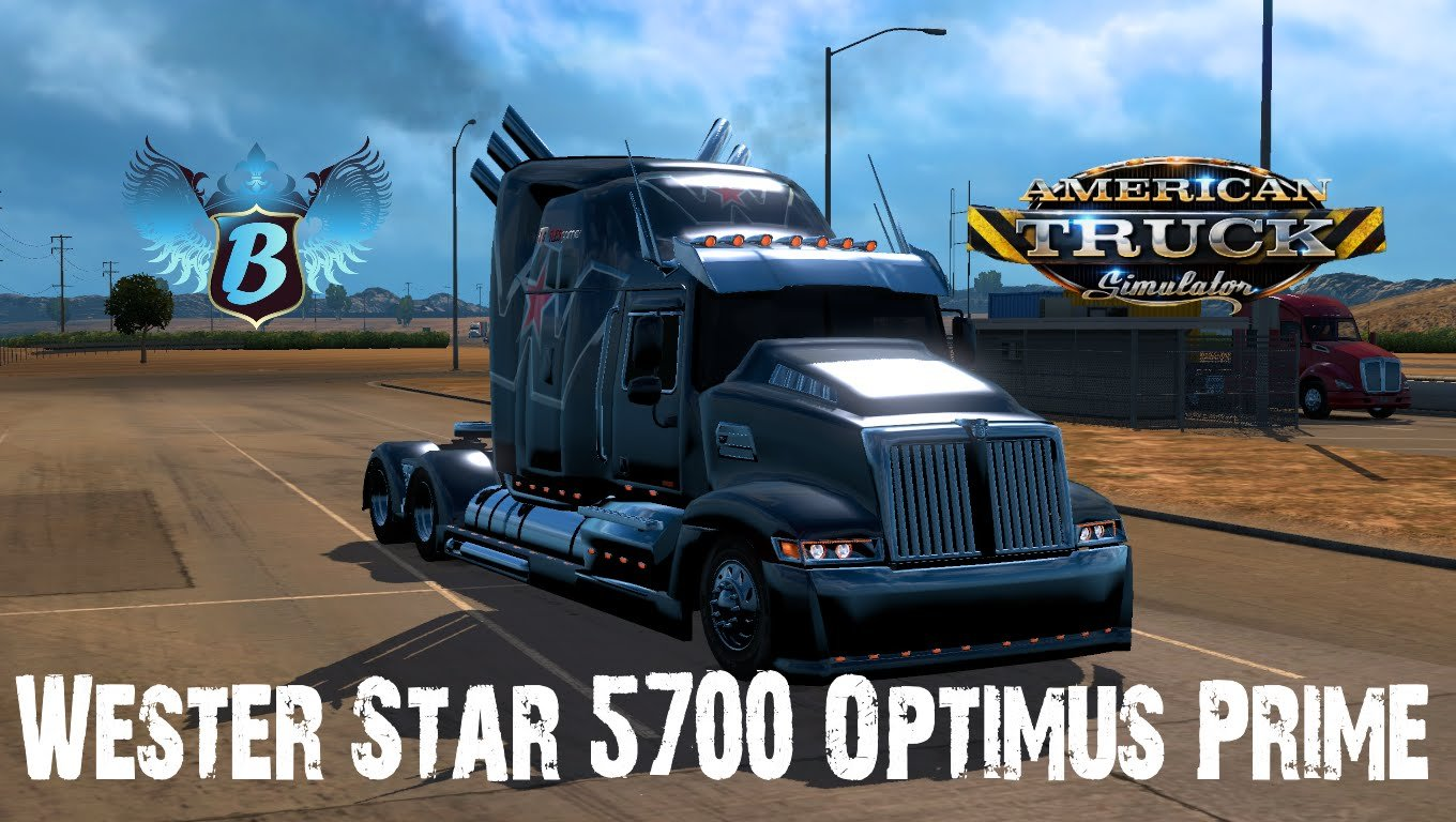 Western Star 5700 Optimus Prime Edit