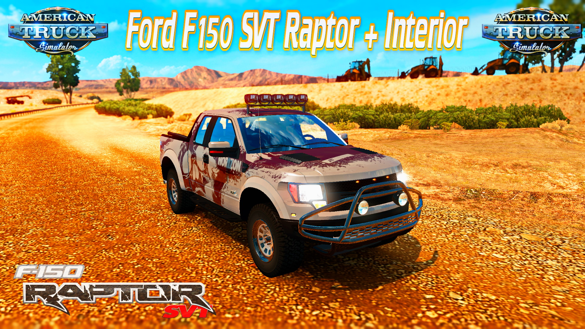 Ford F150 Raptor SVT + Interior v1.4 for ATS