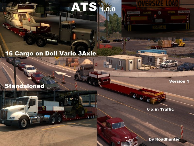 Doll Vario 3 Axle Trailer v 1.0