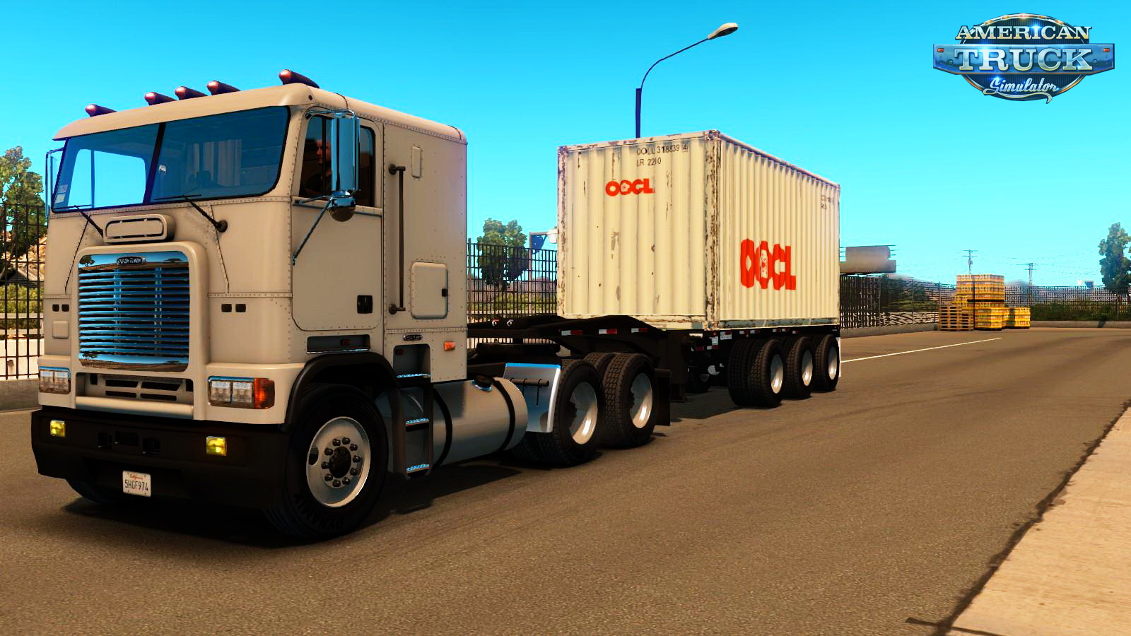 Trailer Container 20ft 3 Axles v1.0 for ATS