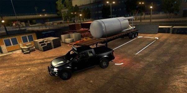 Invisible Trailer for ATS