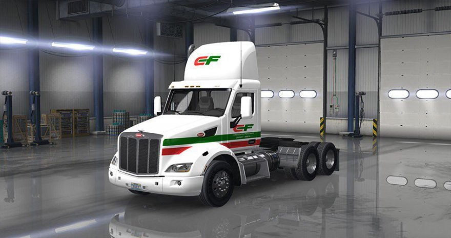 """Consolidated Freightways"" Truck Skin"