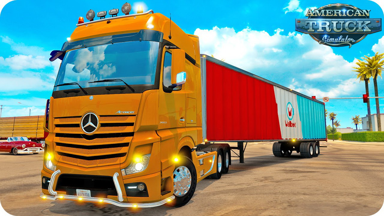 Mercedes Benz Actros MP4 + Interior v2.0 for ATS