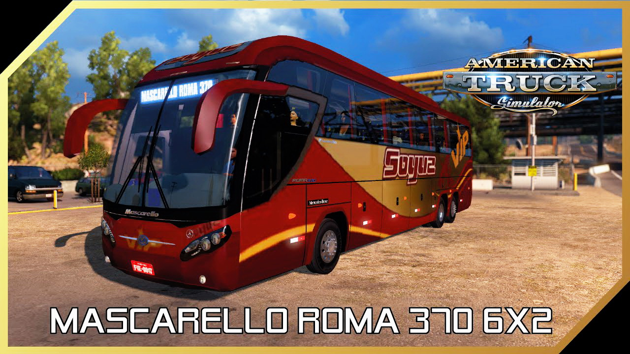 Bus Mascarello Roma 370 6x2 v1.0