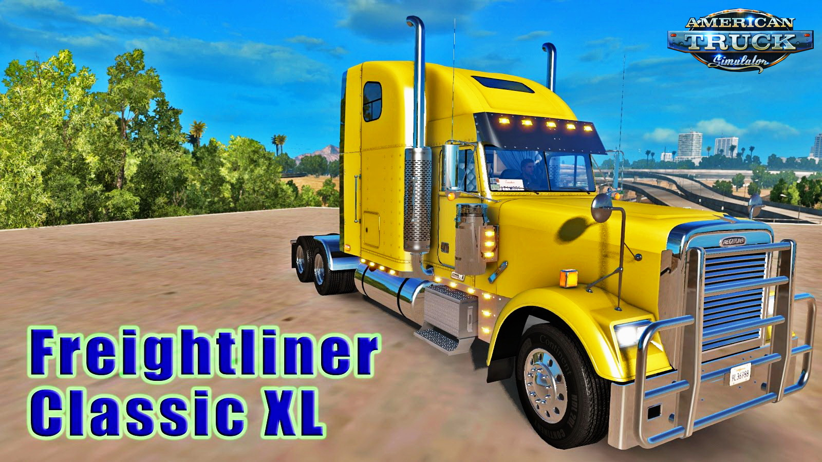 Freightliner Classic XL + Interior v1.0 (Edit by H.Trucker)