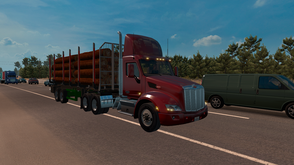 Logs Trailer for ATS