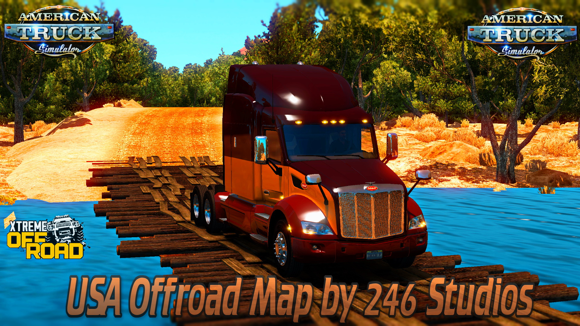 USA Offroad Map by 246 Studios for ATS (American Truck Simulator)