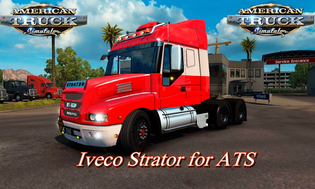 Iveco Strator + Interior v2.0 for ATS