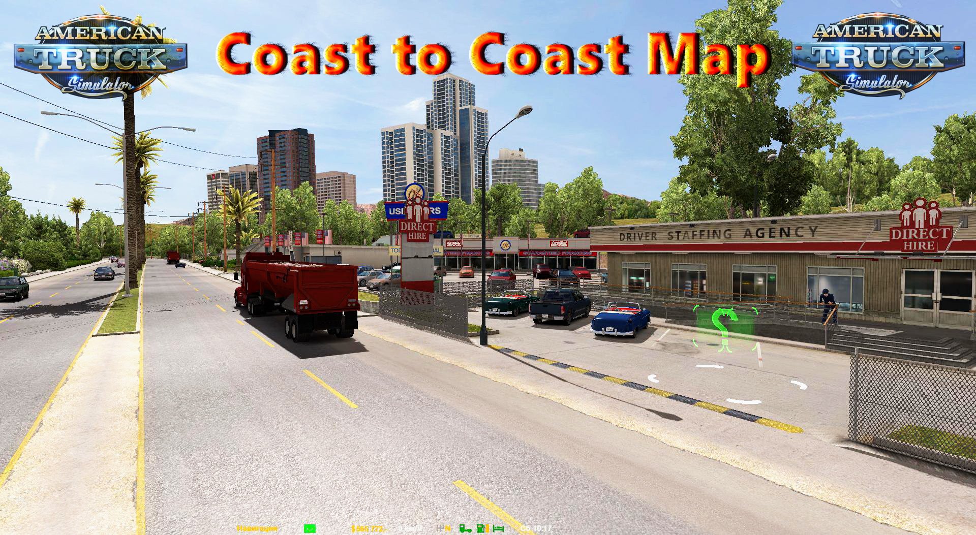 Coast to Coast Map v1.4