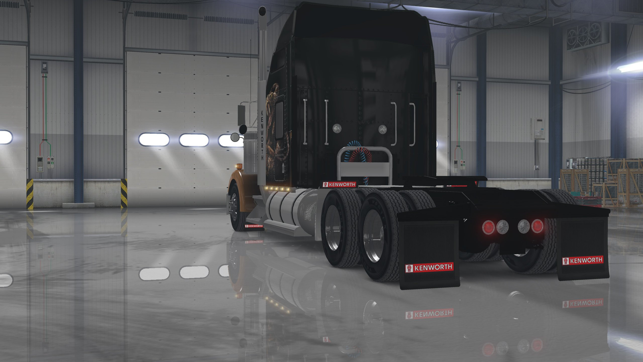 Kenworth W900 Interior/Exterior rework