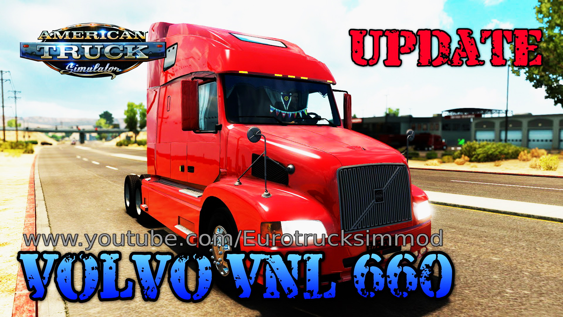 Volvo VNL 660 + Interior v2.3 for ATS