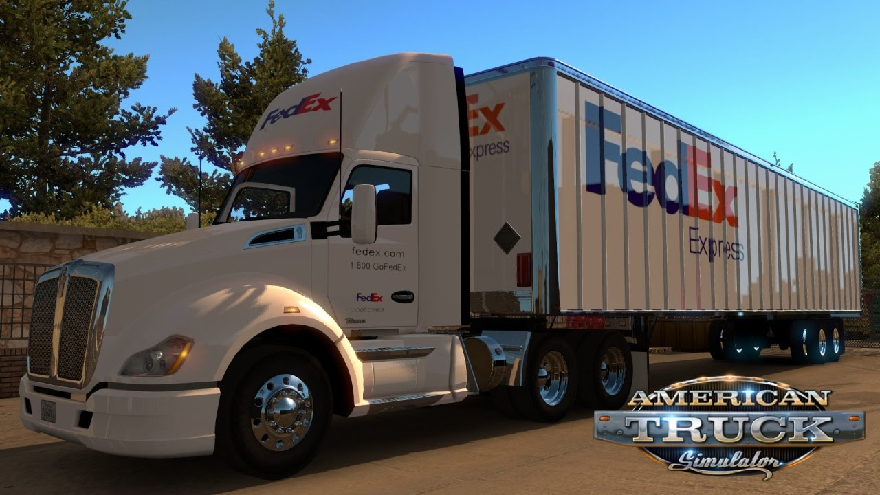 Fedex american truck simulator mods ats mods for Best free ats