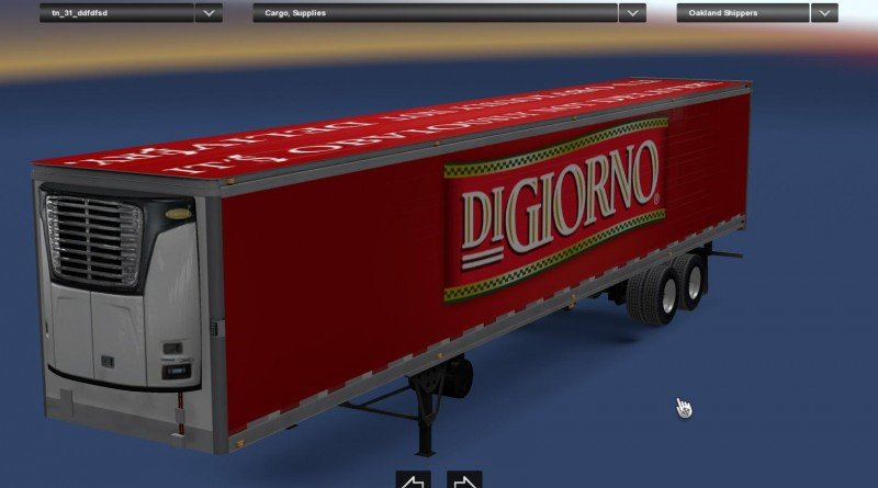"""DiGiorno"" Standalone Long Reefer"