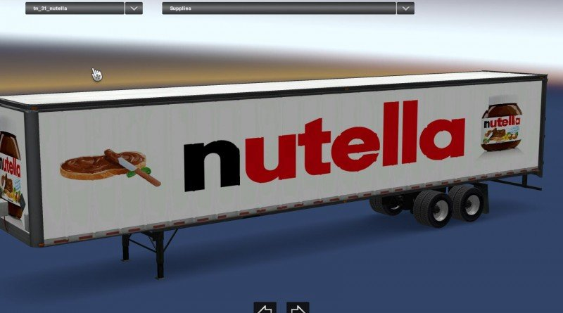 Nutella Longbox Standalone Trailer