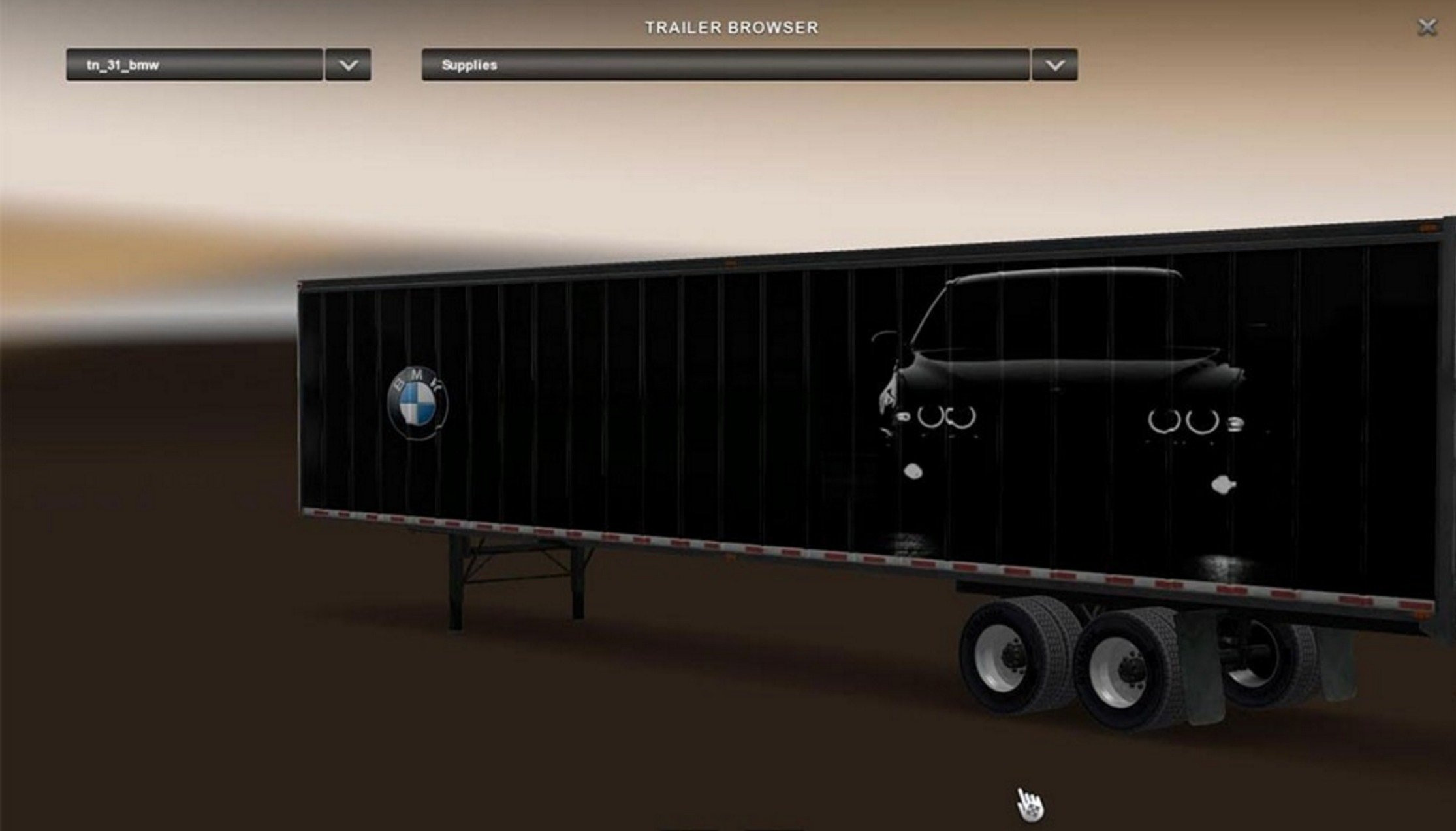 BMW LongBox Trailer (Standalone)