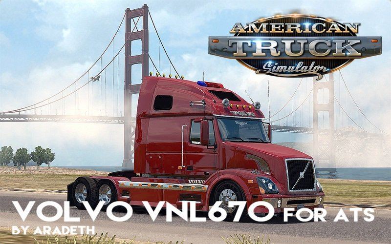 Volvo VNL 670 for ATS v1.2