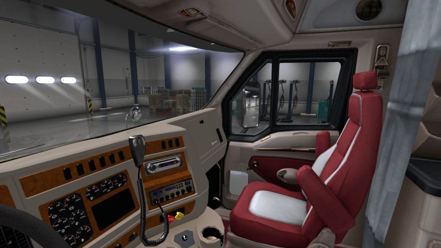 Kenworth T2000 + Interior v1.0 (1.34.x)