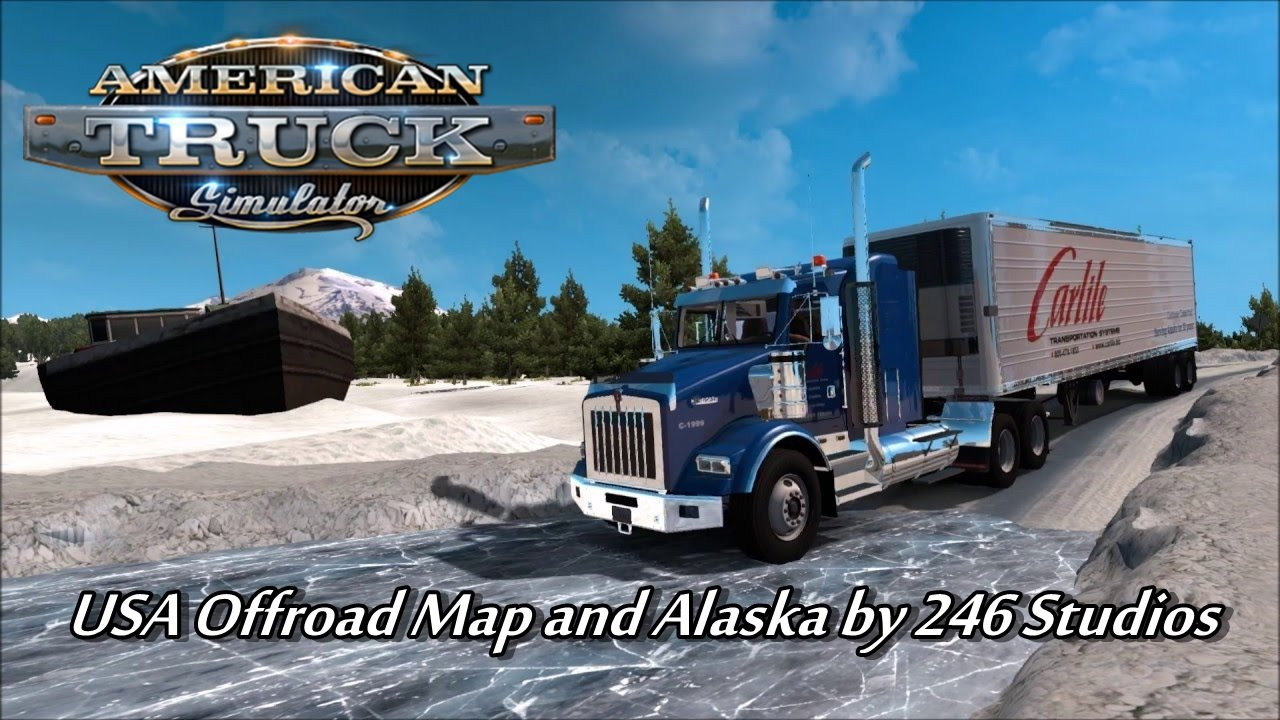 USA Offroad Alaska Map v1.1