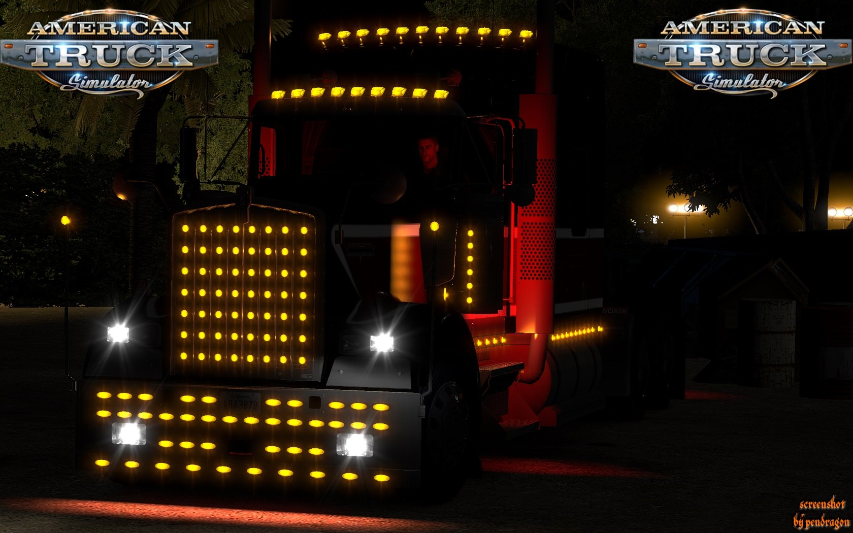 Extra bumpers and parts for Kenworth W900 v1.1