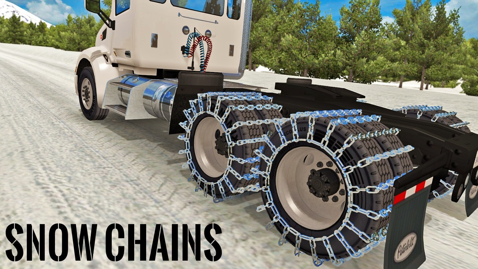 Snow Wheel Chains in ATS